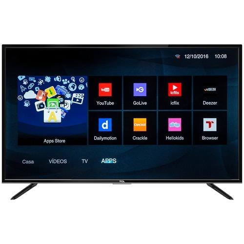 smart tv tcl 32 pulg tda wifi hd netflix cuotas sin interes!