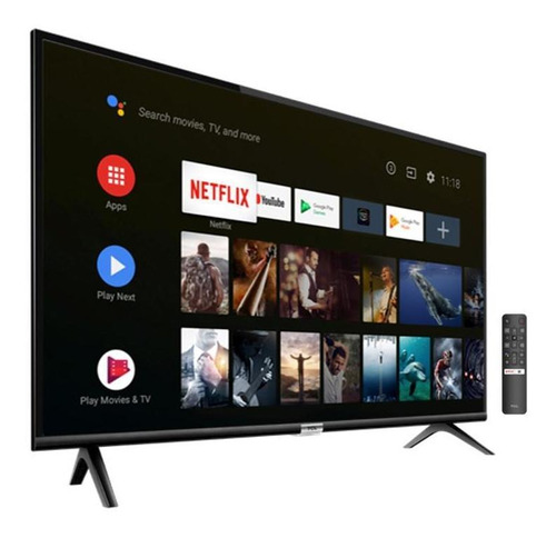 smart tv tcl 40  android full hd s-6500