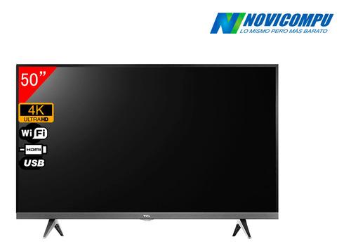 smart tv tcl  50 pul  4k smart 7t1090o uhd