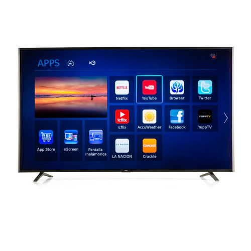 smart tv tcl televisor led 55 4k quhd 55c1us