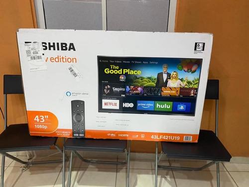 smart tv toshiba full hd 32 pulgadas (firetv, netflix, youtu