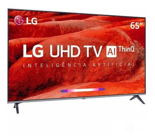 smart tv uhd 4k lg led 65   wi-fi - 65um520psb