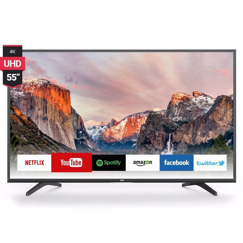 smart tv uled 55'' ultra hd 4k bgh ble5517rtui