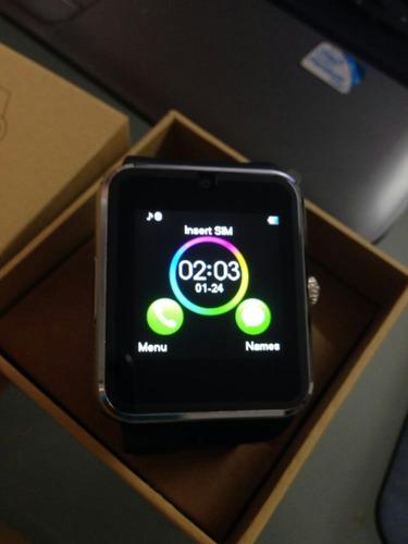 smart watch cel bluetooth gt08-original con chip y cámara.
