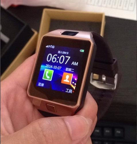 da29e14839e Relógio Dz09 Smart Watch Celular Chip Câmera Som Memória 3g - R  120 ...