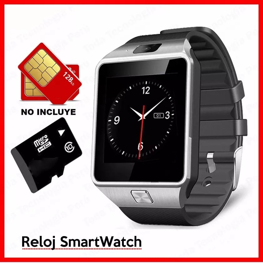 a34c297f1 Smart Watch Celular Dz09 Reloj Cámara Memoria Sd Por Mayor - S/ 45 ...