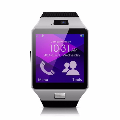 smart watch dz09 incoprora chip/camara