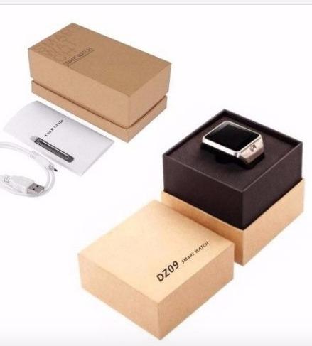 smart watch dz09 reloj celular+cargador 1 a y cable 1 metro