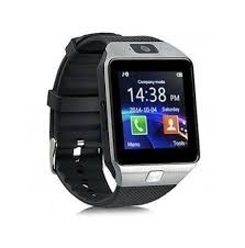 smart watch dz09 sim micro sd plateado
