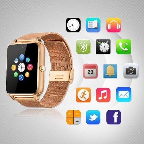 smart watch fantime sw-11 compatible con iphone 5s/6/6s