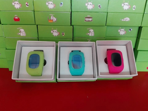 smart watch gps espia para niños boton de ayuda o auxilio