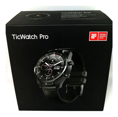 smart watch inteligente ticwatch pro google reloj wear os