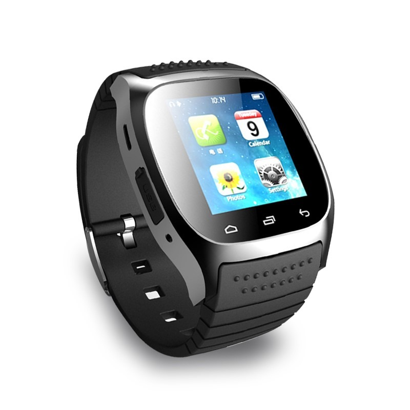 smart watch m26 reloj anti agua apple android. Black Bedroom Furniture Sets. Home Design Ideas