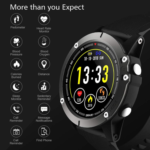smart watch muñequera impermeable para ios android
