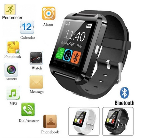 smart watch original reloj inteligente celular u8 bluetooth