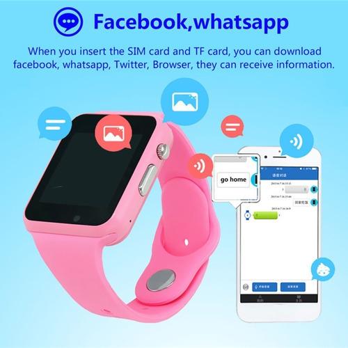 smart watch para niños con rastreador y cámara