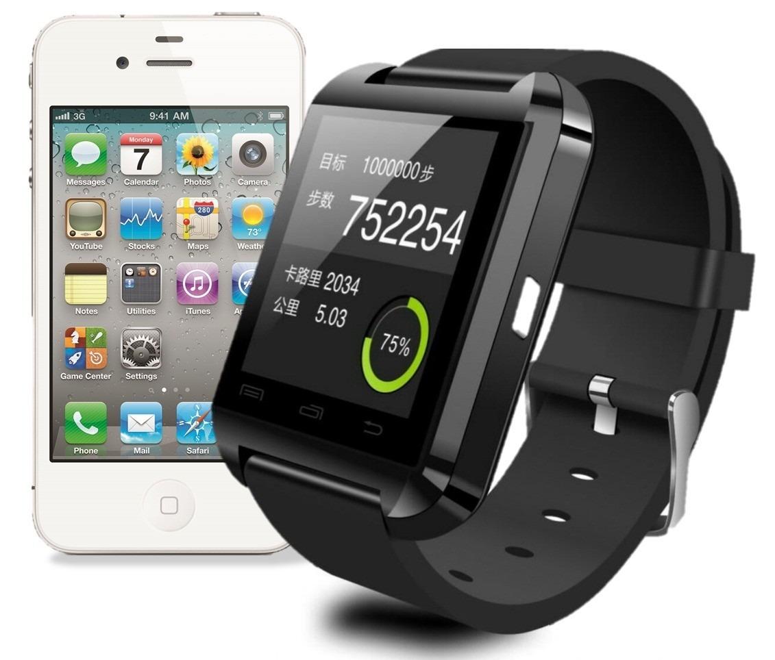 26ea03534a3 smart watch phone bluetooth ios android iphone galaxy sony y. Carregando  zoom.