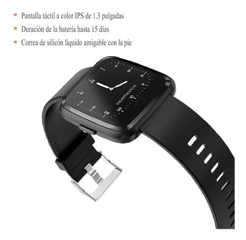 smart watch pulsera fitband, rastreador de ejercicios de 1.3