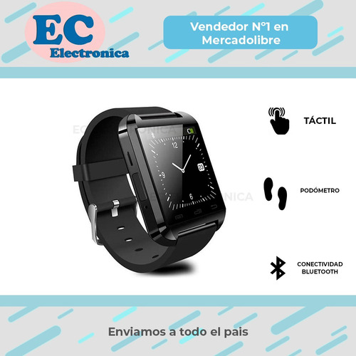 smart watch reloj deportes bluetooth tactil android iphone