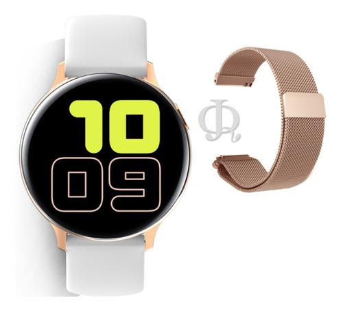 smart watch reloj inteligente x-time malla metal y silicona