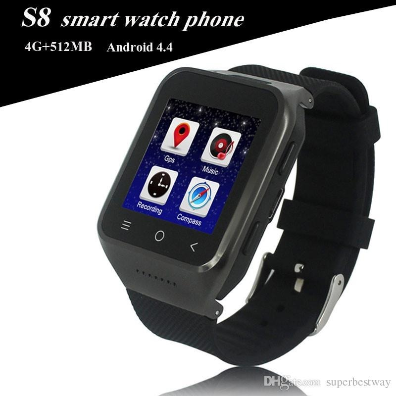 f20ea3efd27 smart watch s8 wi-fi relógio celular 4g android 4.4. Carregando zoom.