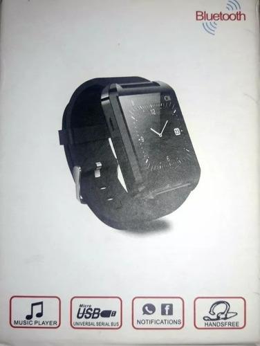 smart watch u8 p/android y apple iphone - como nuevo!!!