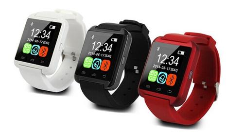 smart watch u8 reloj inteligente bluetooth ios / android