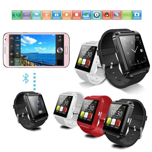 smart watch u8, reloj inteligente bluetooth - ios / android