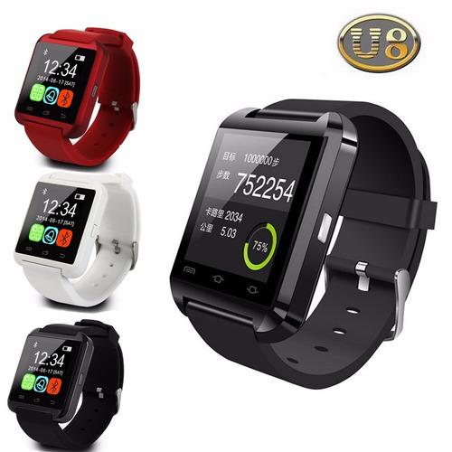 smart watch  u8 - reloj inteligente - bluetooth - tactil