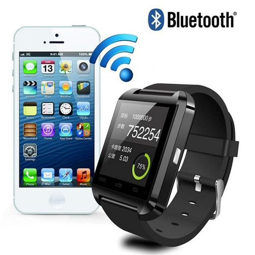 smart watch u8 reloj inteligente u80 bluetooth tactil celula