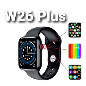 Smart Watch W26 Serie 6, Full Screen,  Llamadas Bluetooth