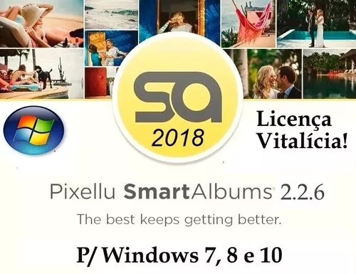smartalbums licença vitalicia  2.2.6 windows\ mac os