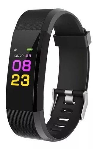 smartband 115 plus sensor ritmo cardíaco reloj pulsera c2s
