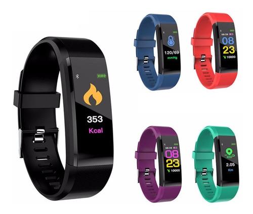 smartband banda inteligente ios android colores rh ejercicio
