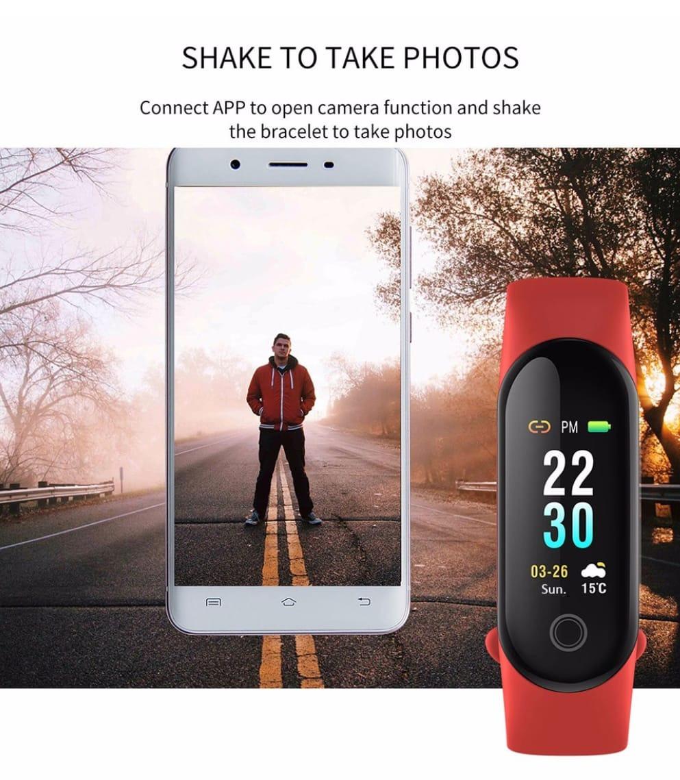 d496f5ba330 Relógio Inteligente Smartband M3- Para Pratica De Esportes - R  149 ...