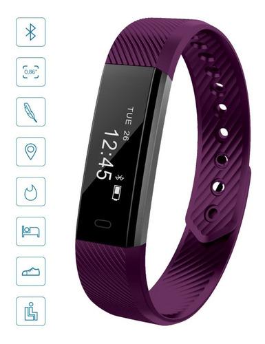 smartband gofit reloj deportivo caloria sedentario pedometro