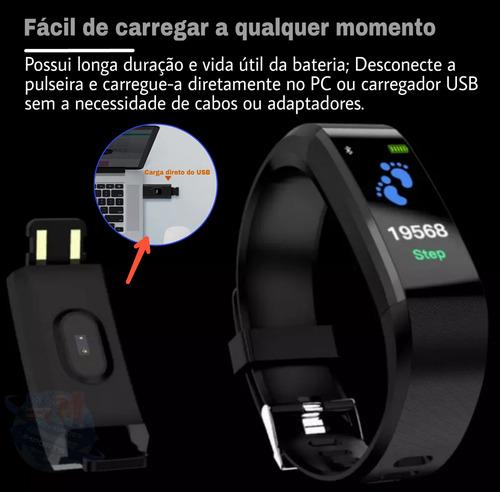 smartband id115plus (pressão arterial) + 2 pulseiras extras