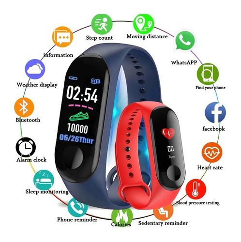 smartband m3 ejercicio cargador + correa extra