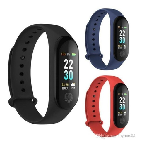smartband m3 plus manilla inteligente reloj