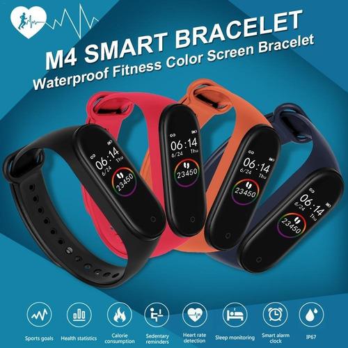 smartband m4 reloj pulsera inteligente ritm cardiaco fitness