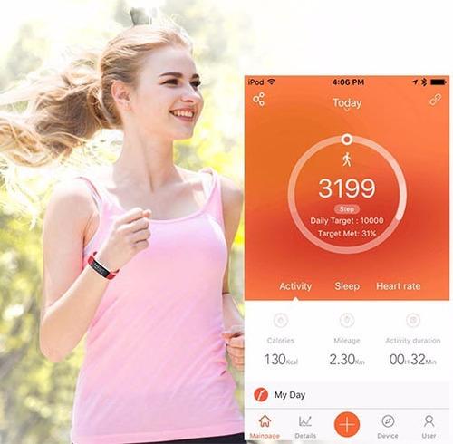 smartband smartwatch id115 plus corazon podometro calorias