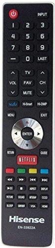 smartby reemplazo hisense en-33922a tv de internet control r