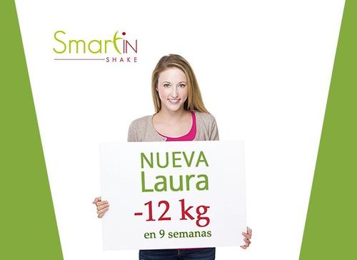 smartinshake 120 porciones  pierde peso, efecto anti antojos