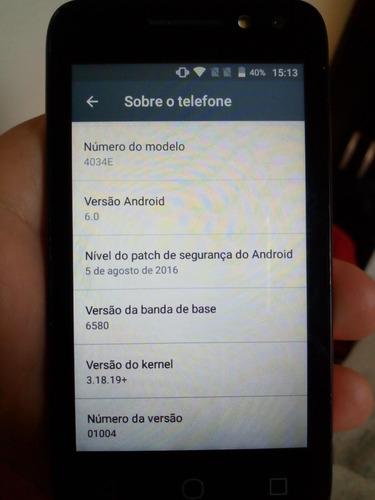 smartphone alcatel pixi 4,dual sim.