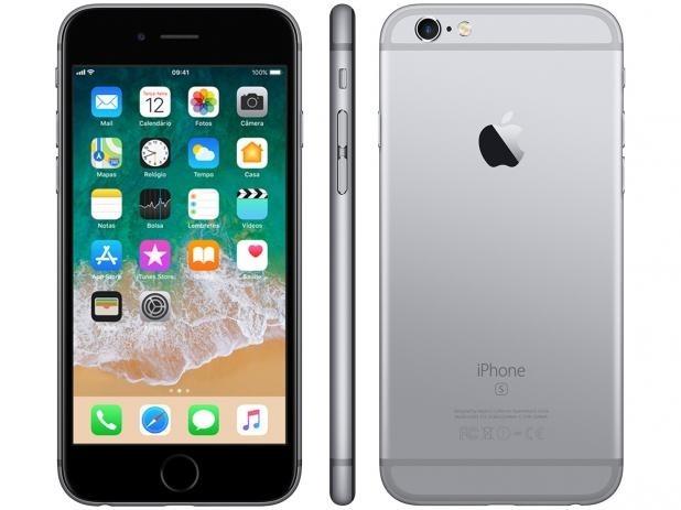 5ca0aab49 Smartphone Apple Iphone 6s Plus 64gb Semi Novo - R  1.889