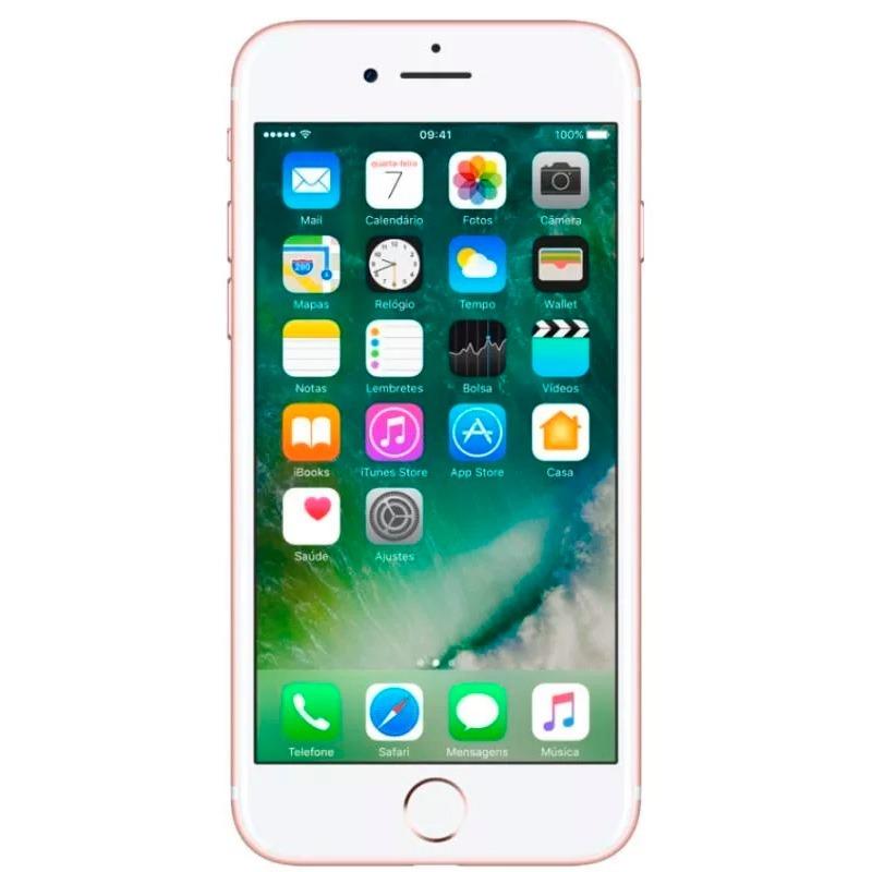 9fce39fe3 Smartphone Apple Iphone 7 128gb Tela 4,7 - Vitrine - R$ 2.240,21 em ...