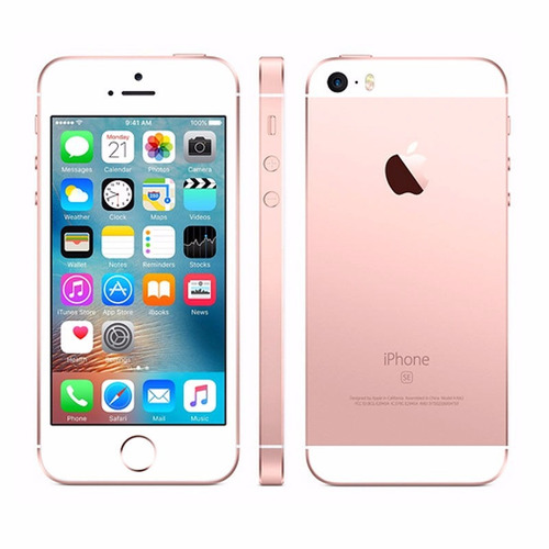 smartphone apple iphone se 16gb rose vitrine promoção