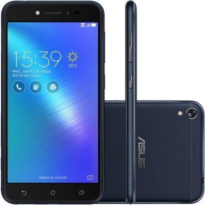 f621f9871 Smartphone Asus Zenfone Live 16gb Zb501kl Preto Android 6.0 - R  606 ...