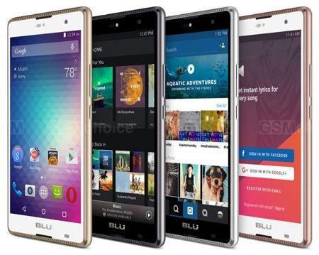 smartphone blu grand 5.5 hd android 6 câm 8mp/5mp 3g