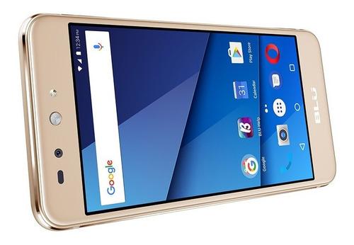 smartphone blu grand x lte gold dual sim liberado (open box)